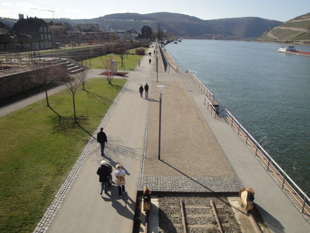 Rheinpromenade Bingen am Rhein