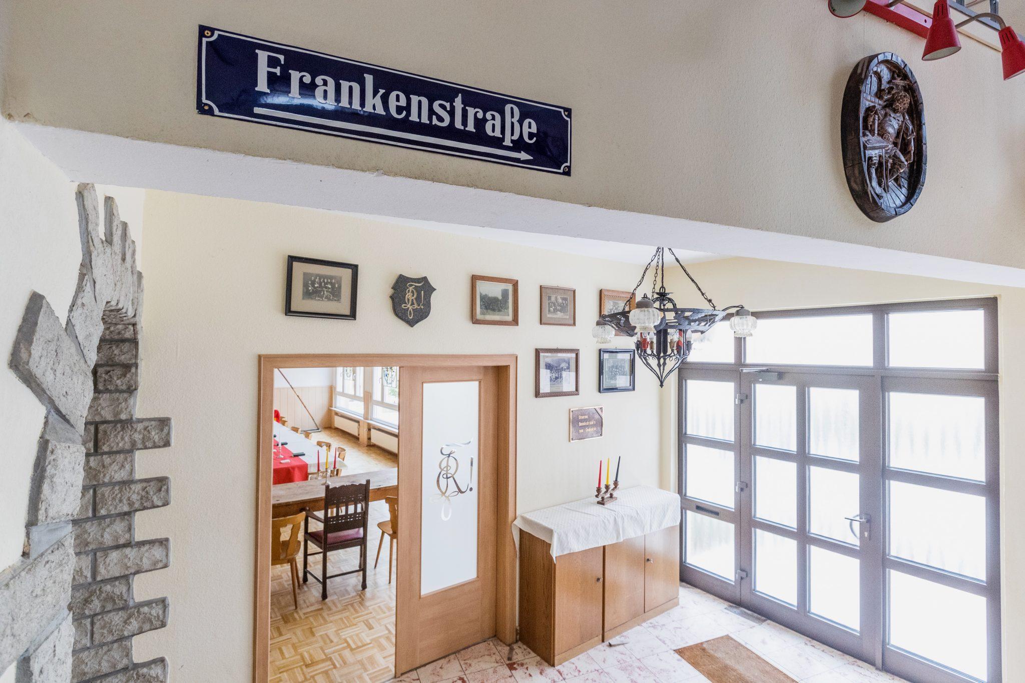 Studentenwohnheim Bingen Teutonenhaus Eingangsrtreppe 2