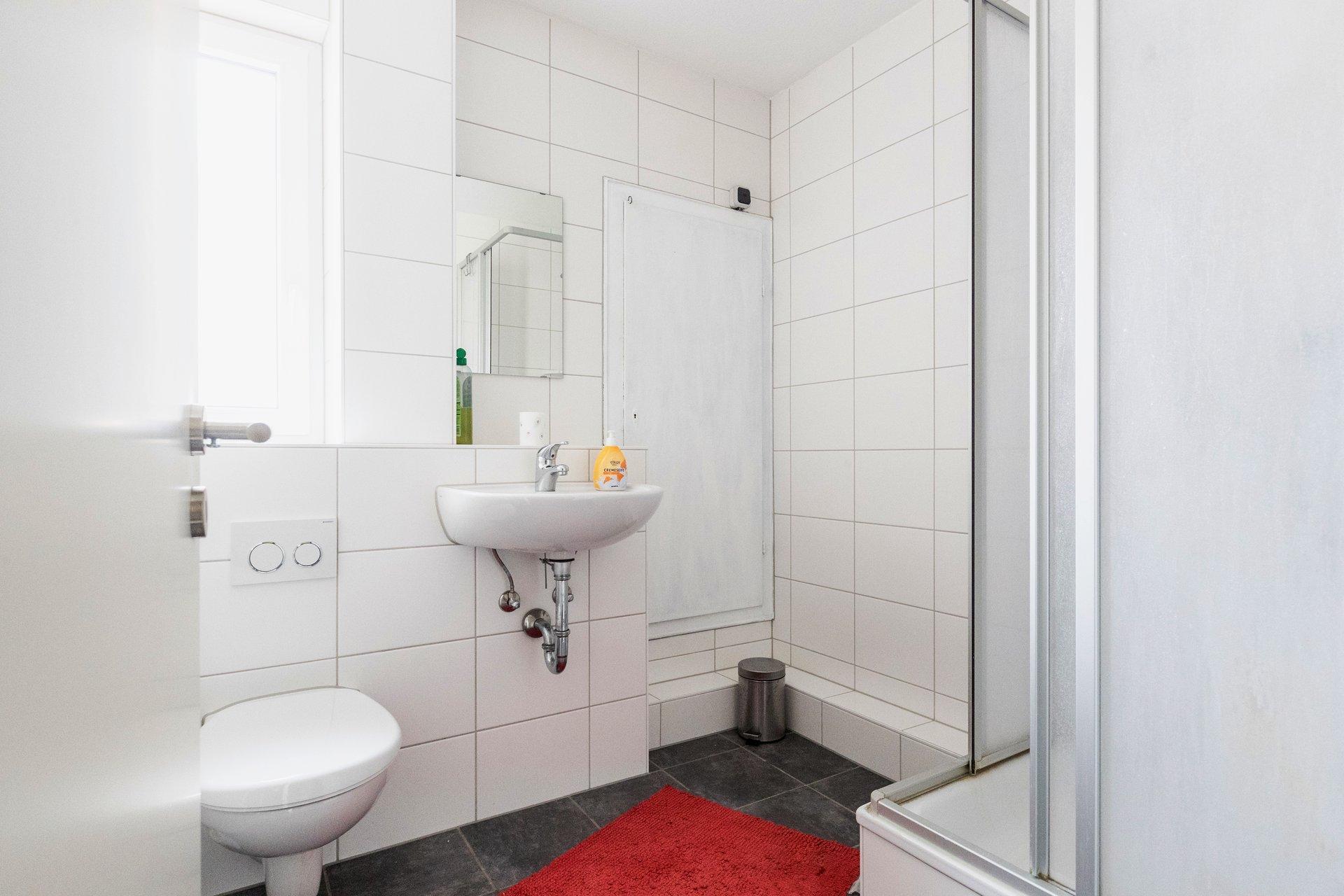 Studentenwohnheim Bingen Teutonenhaus Bad und Dusche